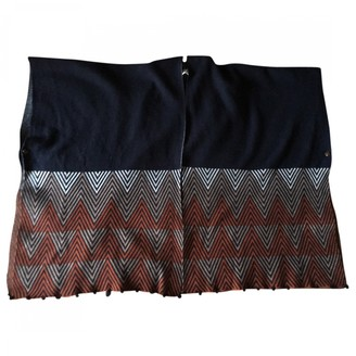 Bel Air Navy Wool Knitwear for Women