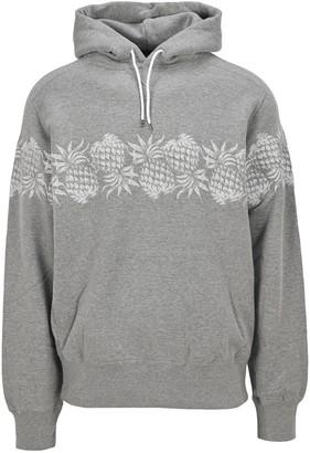 Sacai Pineapple Printed Hoodie