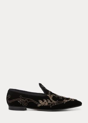 Ralph Lauren Jillene Embroidered Loafer