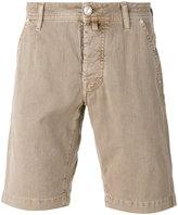 Jacob Cohen denim shorts - men - Cotton/Linen/Flax/Spandex/Elastane - 32
