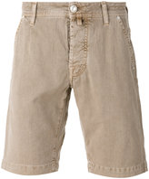 Jacob Cohen denim shorts - men - Cotton/Linen/Flax/Spandex/Elastane - 34