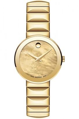 Movado Ladies Sapphire Watch 0607049