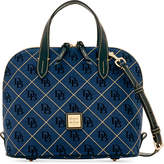 Dooney & Bourke Signature Quilt Zip Zip Medium Satchel, Created for Macy's