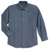 Michael Kors Boy's Denim Dress Shirt
