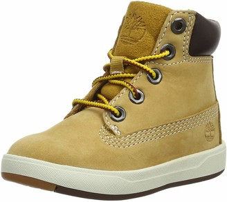 Timberland Unisex-Kid's Davis Square 6 Inch (Toddler) Classic Boots