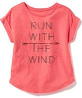 Old Navy Graphic Scoop-Neck Tee for Girls