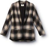 QSW Riding Plaid Kimono Jacket