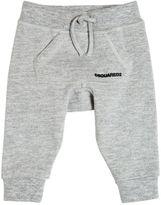 DSQUARED2 Logo Printed Cotton Jogging Pants
