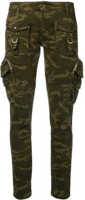 Faith Connexion military skinny trousers