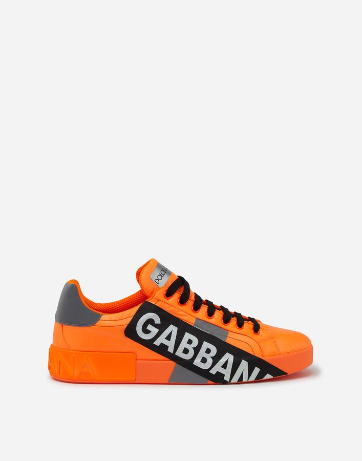Dolce \u0026 Gabbana Orange Men's Shoes