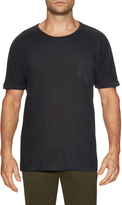 Shades of Grey by Micah Cohen Men's Rolled Cuff Pocket Tee