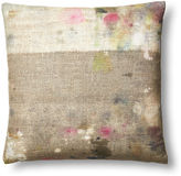 Dransfield and Ross Drop Cloth 22x22 Pillow, Multi