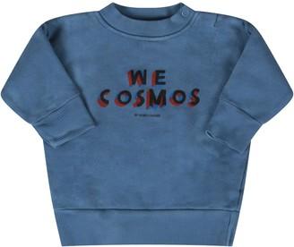 Bobo Choses Light Blue we Cosmos Baby Boy Sweatshirt