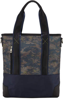 Robert Graham Men's Fielding Camo Medium Tote Bag
