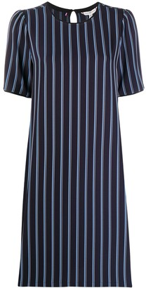 Tommy Hilfiger Striped-Print Shift Dress