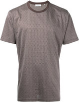 Cerruti diamond pattern T-shirt - men - Cotton - M
