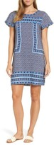 Vineyard Vines Women's Dot Border Shift Dress