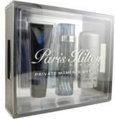 Paris Hilton for Men-3 Pc Gift Set 3.4-Ounce EDT Spray, 3-Ounce Hair and Body Wash, 2.75-Ounce Deodorant Stick