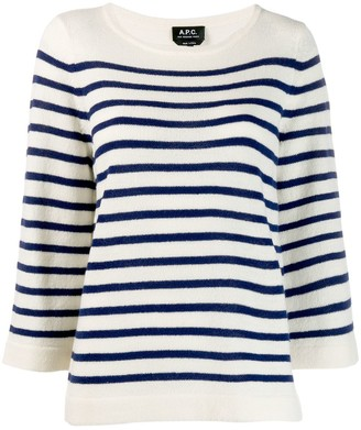 A.P.C. Striped Jumper