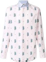 Gucci Kingsnake embroidered shirt