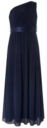Dorothy Perkins Womens **Showcase Petite Navy 'Sadie' Maxi Dress, Navy