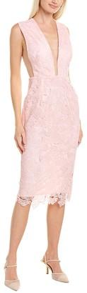 SAU LEE Kendall Sheath Dress