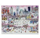 "Michael Storrings Central Park in Winter Print, 11"" x 14"""