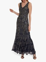 Thumbnail for your product : Gina Bacconi Alundra Beaded Maxi Dress