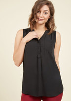 Myrtlewood Girl About Scranton Tunic in Black in S