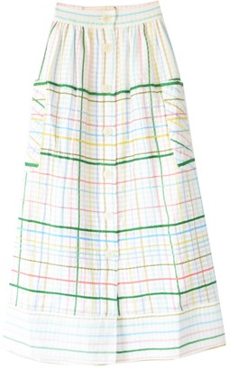 MII Les Madras Skirt in Pastel