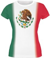 Old Glory Mexican Flag Cinco De Mayo All Over Juniors T-Shirt - 2X-Large