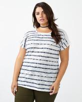 Penningtons Girlfriend Fit Striped T-Shirt