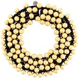 Maria Calderara oversized pearls motif necklace