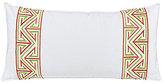 Trina Turk Trellis Embroidered Pillow