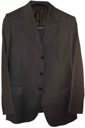 Loro Piana Brown Wool Suits