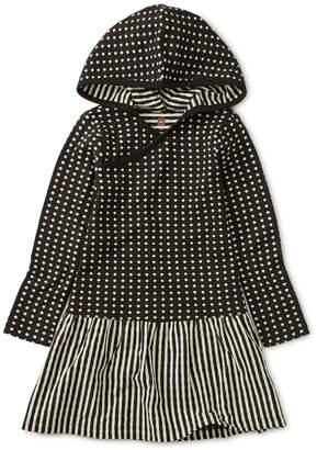 Tea Collection Khumbu Double Knit Hoodie Dress