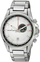 Jacques Lemans Liverpool GMT Men's Watch XL Analogue Quartz Stainless Steel 1 1653E
