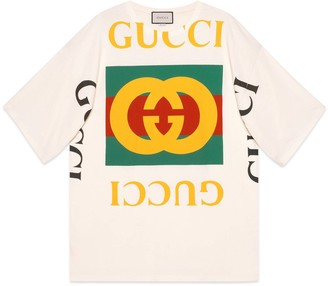 Gucci Oversize T-shirt with logo