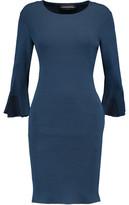 By Malene Birger Ribbed Stretch-Jersey Dress