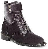 Vince Camuto Talorini Velvet Combat Boots