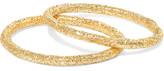 Carolina Bucci Set Of Two 18-karat Gold Rings - 6