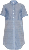 Frame Short-sleeved cotton shirtdress