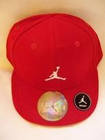 Nike Jordan Infant 12/24 Boy's Embroidered Jumpman Logo Fitted Baseball Cap (Red/White)