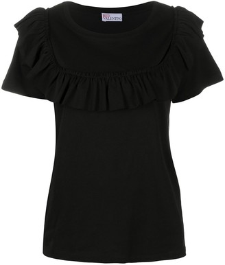 RED Valentino Ruffle-Detail Blouse