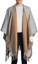 Saks Fifth Avenue Women's Solid Color Wool Fringe Scarf