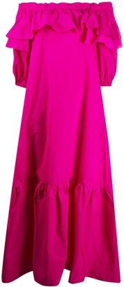 P.A.R.O.S.H. Ruffle Oversized Dress