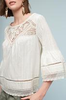 Floreat Priscilla Bell-Sleeve Blouse