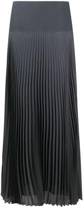 Chloé Long Pleated Skirt