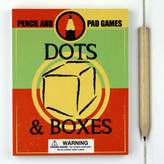 Nest Pad And Pencil Dots And Boxes Game