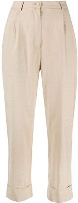 Hebe Studio High-Rise Straight Trousers